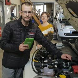 """Journal de S&L :""""Des boîtiers Biomotors installés au garage Chabot"""""""